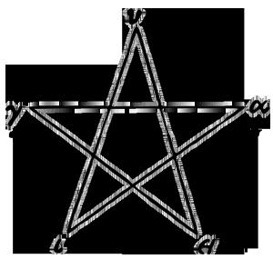 Hugieia Pentagram of Pythagoreans