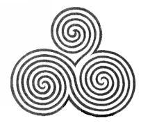 Celtic knot pattern